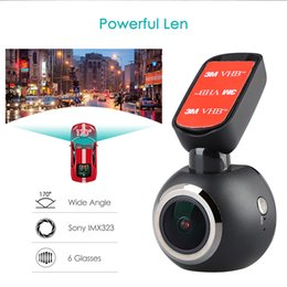 Remote contRol mini caR cameRa online shopping - 1 quot Mini WiFi Car Dash Cam Dash Camera Car DVR LCD Screen p Video Recorder GPS Logger Night Vision Remote Control DVR