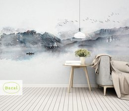 $enCountryForm.capitalKeyWord Australia - Bacal Large 3D Papel Murals Nature Fog Mountain Forest Wallpaper 3d Wall Mural Wall paper for Bedroom Background 5D stickers
