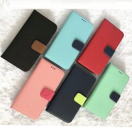 China 2019 New Leather Wallet Card Slot Flip Stand Phone Case PU Cover For iPhone XS MAX XR X 8 Plus 7 6s 6 plus 7 plus with opp bag package suppliers
