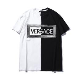 fc79ac3fa2b 2019 Famoso designer de verão T-shirt de marca de roupas de homens de alta  qualidade de impressão de algodão O colarinho casual mulheres tshirt de  luxo ...