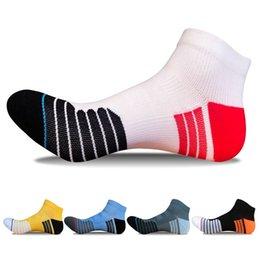 Sock Packs Australia - 20 pairs   Pack ! Men's Running socks Cotton breathable Striped Basketball Socks Outdoor Golf Tennis sport hiking Cycling socks #119797