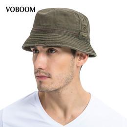 $enCountryForm.capitalKeyWord Australia - Voboom Summer Sun Bucket Hat Cotton Men Women Breathable Panama Fishing Cap 102 Y19070503