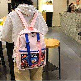 Cute Backpacks For Teenage Girls Australia - Fashion Cute Women Backpacks PVC Jelly Pocket Candy Color Student Schoolbags Teenage Girls Bags for School Backpack Mochilas
