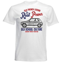 tshirt cars Australia - VINTAGE FRENCH CAR 104 COUPE - NEW COTTON T-SHIRTFunny free shipping Unisex Casual Tshirt top