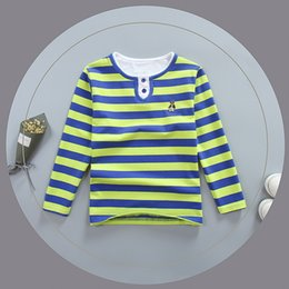 $enCountryForm.capitalKeyWord Australia - good quality Kids Boys Cotton T-shirt Children Casual Striped Long Sleeve Tees For Baby Boys Child Sport Spring Autumn Tops Clothes