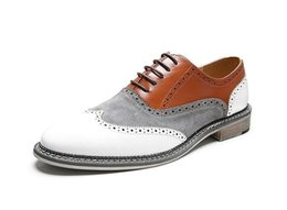 $enCountryForm.capitalKeyWord NZ - Mens spring fashion mixed colors big size 38-47 leather shoes male casual dress lace up wedding shoes for young men shoes dha6