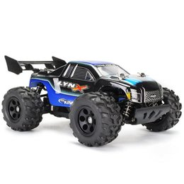 electric road cars 2019 - 1:24 High-speed Four-wheel Driving Car Double Motors Drive Bigfoot Car Remote Control Car Model Off-Road Vehicle Toy che