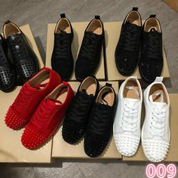 $enCountryForm.capitalKeyWord Australia - Bottom shoes men Unisex Casual Shoes hair with Multicolor Rhinestone High tops Luxury Spring Autumn Flats Sneakers Paris Fashion Design 3A 5
