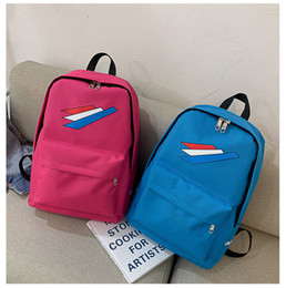couple school bag 2019 - Hot Sale Brand Teenage Backpack School Bag Casual Unisex Travel Bags Handbags for Girls Boys Couples School Bag Mens Bac