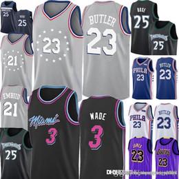 5e5dc74a8 23 Jimmy   Butler Jersey 76ers 21 joel   embiid Heat 3 Dwyane   Wade  Timberwolves Derrick 25 Rose Jerseys