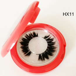 Chinese  Wholesale hot sale horse Hair False lashes Natural Thick Long False Eyelash Extension Soft Messy Thick Long soft cotton band private logo manufacturers