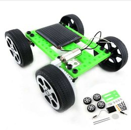 Energy Gadgets Australia - Good Quality 1 Set Mini Solar Powered Toy DIY Car Kit Children Educational Gadget Hobby Funny Solar Energy Drop Shipping
