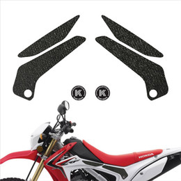 fuel tank motorcycle sticker Australia - KSHARPSKIN Fuel tank grip motorcycle sticker Fuel tank side protection decal for HONDA 2013-2018 CRF250L 2014-2015 CRF250M