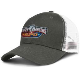 Baseball Power Australia - Power Rangers SPD army_green mens and women trucker cap baseball cool custom blank hats
