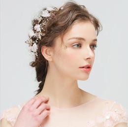 $enCountryForm.capitalKeyWord Australia - Jewelry Bride's Headwear Hand-made Hair Headband Hair Jewelry