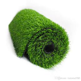 $enCountryForm.capitalKeyWord Australia - High density Straw Mat Green Artificial Lawn Carpet Fake Turf Home Garden Moss Home Floor DIY Wedding Decoration Grass thickness 1.0cm
