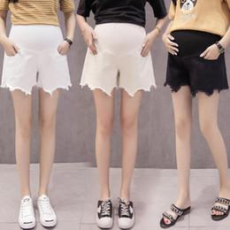 $enCountryForm.capitalKeyWord Australia - Women Maternity Shorts Summer Pregnant Pocket Loose Shorts Lady Clothing