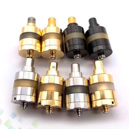 Kayfun rta atomizer online shopping - 2019 Kayfun Lite RTA Silver Black Gold Colors MM MM KF Lite Tank Atomizer Fit E Cigarette DHL Free