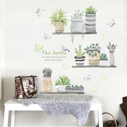 $enCountryForm.capitalKeyWord Australia - 3d garden plant flower butterfly wall stickers nursery Living Room Bedroom Store window home decor flower wall decal art poster