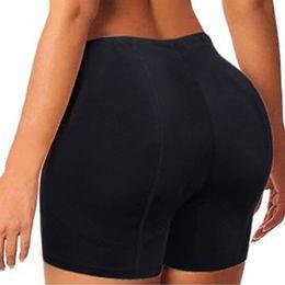 Panties White Blue Australia - Body Shapers Sexy Boyshort Panties Woman Fake Ass Underwear Push Up Padded Panties Buttock Shaper Butt Lifter Hip Enhancer