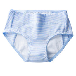 Chinese  Cotton Underwear Briefs Trendy Clothes Menstrual Moon Period Women Antibacterial Elastic Comfortable Soft Breathable Leak Proof Panties manufacturers