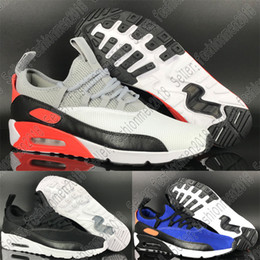 Plastic Pedals Australia - New 90 EZ A Pedal Mesh Breathable men shoes Comfortable Running Shoes for High quality deep blue Grey White Black Men's Sports Sneakers 3A