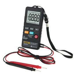 $enCountryForm.capitalKeyWord Australia - AN302 Digital LCD Display 8000 Count Multimeter Voltage Tester Push Button Card Type For Electricians Daily Test Tool