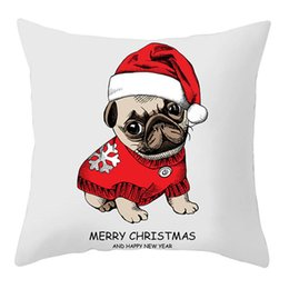 $enCountryForm.capitalKeyWord Australia - 2020 New Year Christmas Decorations For Home Decor For Home Decoration Accessories Ornaments Animal Pattern Pillowcase Wholesale