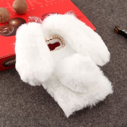cases samsung galaxy a3 Australia - Rabbit Fur Case For Samsung Galaxy J5 2017 A320 A520 A720 A3 A5 A7 2017 J3 J7 2017 A5 2018 S8 S8 Plus Note 8 Silicone Fundas