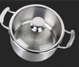 Kitchens Manufacturers Australia - Chinese manufacturer supply light titanium soup pot with lid titanium cooking soup pots Manufacture uncoating kitchen ware non-stick stock