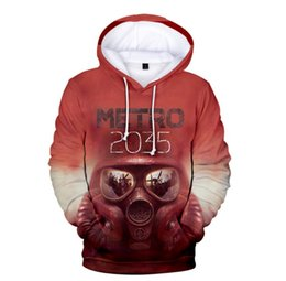 Wholesale casual men apparel for sale – custom Fashion Cool Metro Exodus Popular Hoodies Sweatshirts Men Women Harajuku Hip Hop Outerwear Hooded Casual Apparel Streetwear