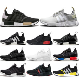 52877d7cb Discount athletic shoes camo - NMD R1 Primeknit Runner Best Quality Running  Shoes Atmos Triple Black