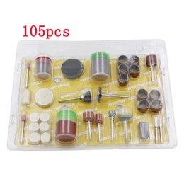 Wholesale 105pcs Drill Bit Rotary Set Kit Grinding Sanding Engraving Polishing Hobby Tool