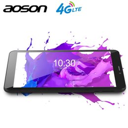 Tablets 1gb 4g Australia - AOSON 8 inch S8PRO Android 6.0 Quad-Core 4G tablet pc phablet card mobile phone with dual camera 4200mAh Batter free shipping