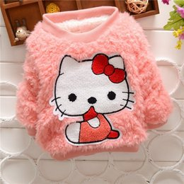 $enCountryForm.capitalKeyWord Australia - good quality Baby Sweater Winter Pullover Brand Sweater Baby Girls Clothes Cartoon Cat Children Clothing Long Sleeve Outerwear