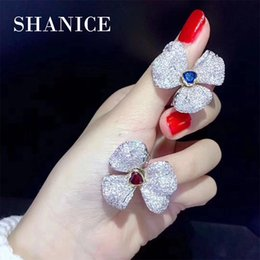 $enCountryForm.capitalKeyWord Australia - SHANICE Flower DIY Cubic Zirconia Bracelets Pearls Necklace Making Findings Supplies Charm Clousures Connector Clasps Accessorie
