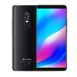 "Discount blackview smartphone - Laser Projector Blackview MAX 1 6GB 64GB Octa Core MTK6763T Android 8.1 6.01"" AMOLED Full Screen FHD+ NFC Fingerpri"