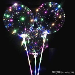 $enCountryForm.capitalKeyWord NZ - Luminous LED Balloons With Stick Lighted Up Balloon Kids Toy Birthday Party Wedding Decorations
