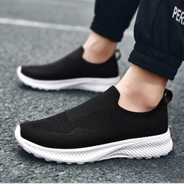 running man korean shoes UK - Men's shoes summer 2020 new style breathable mesh running shoes Korean fashion casual shoes
