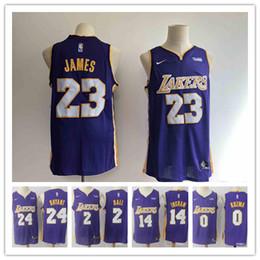 baf6b93e8f8 Kobe Jersey 24 Canada - 2019 23 LeBron James Laker Jersey The City Los  Angeles Kobe