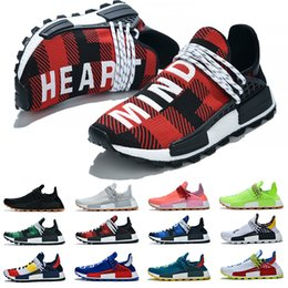 $enCountryForm.capitalKeyWord Australia - NMD HUMAN RACE boost shoes star Pharrell Williams Tie Dye Solar Pack Mother designer Fashion golden men Sports Shoes