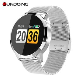Q8 Smart Watch Australia - Q8 Kleur Screen smart watch vrouwen horloge Mode smartwatch Hartslagmeter Fitness Tracker