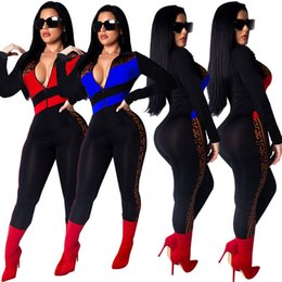 69532fb8226 Ladies overaLLs cLothing online shopping - Designer Women long sleeve Jumpsuit  Rompers Capris lapel neck Sexy