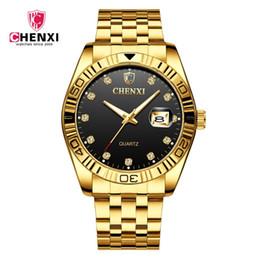 Опт New CHENXI Watches Men Quartz Top  Analog  Male Watches Men Business Calendar Wristwatch Waterproof Relogio Masculino