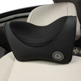 $enCountryForm.capitalKeyWord Australia - Car Pillow Headrest Neck for Seat Chair High Quality Cotton Fabric Cover Soft Head Rest Office Support Travel Car Pillow