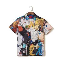 Personality T Shirts NZ - 19ss designer mens T shirt box logoTshirt high quality luxury Tshirts men top grocery store printing tees personality street view mans t tee