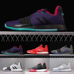 89450be7d66c 2019 High Quality James Harden 3 Vol.3 Men s Basketball Shoes Rocket Red  Gray Black Gym Shoes Men Designer Trainer Sport Sneaker Size 40-46