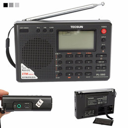 radio portable mw lw sw Australia - TECSUN PL-380 DSP PLL FM MW SW LW Digital Stereo Radio World-Band Receiver New 3 Colors 7 Tuning Mode Selectable 135x86x29mm