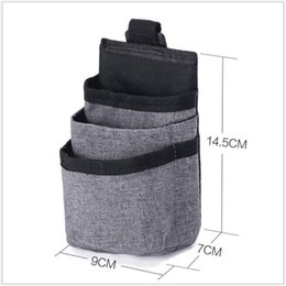 garbage for car UK - Automobile Car Storage Pockets Portable Car Trash Can Bin Auto Accessories Organizer Garbage Dump For Trash Can