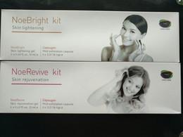 Bright machine online shopping - Noe Bright Kit Skin lightening Noe Revive Kit Skin rejuvenation Gel For Oxygen Machine CE DHL